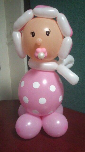 Bebesito globos Pinterest Globo, Decoracion globos y - imagenes de decoracion con globos