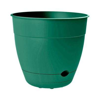 Self Watering Plant Pots Planters The Home Depot In 2020 Self Watering Planter Plastic Planter Plastic Plant Pots