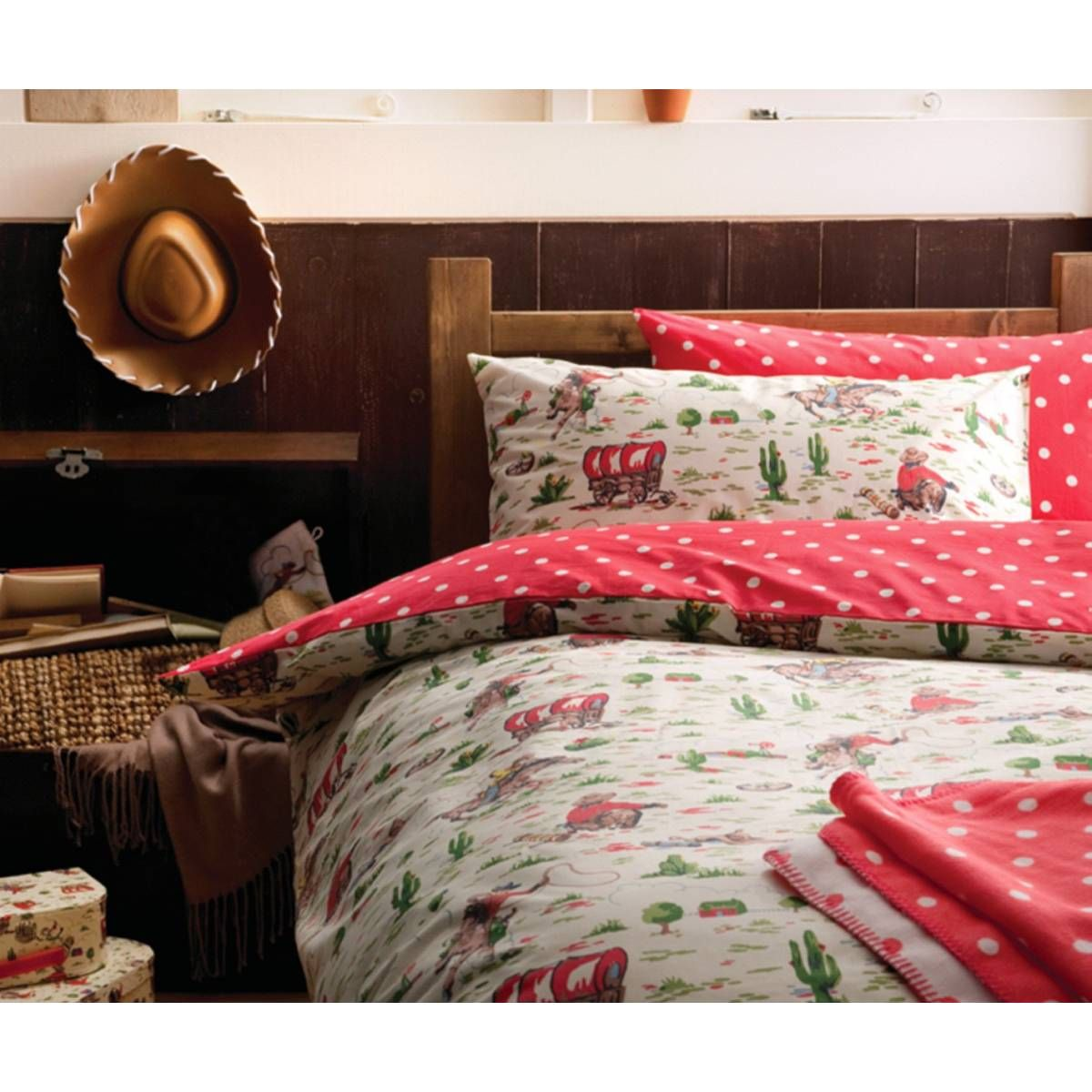 Cath kidston cowboy bedding set childrens bedroom ideas for Cath kidston style bedroom ideas