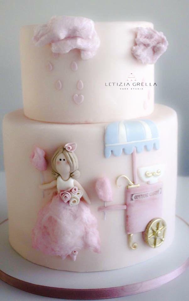 Candy cotton doll   Torte   Pinterest   Topolino, Compleanno e Cuore