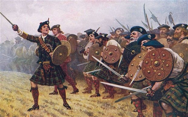 Image result for medieval scottish highlanders