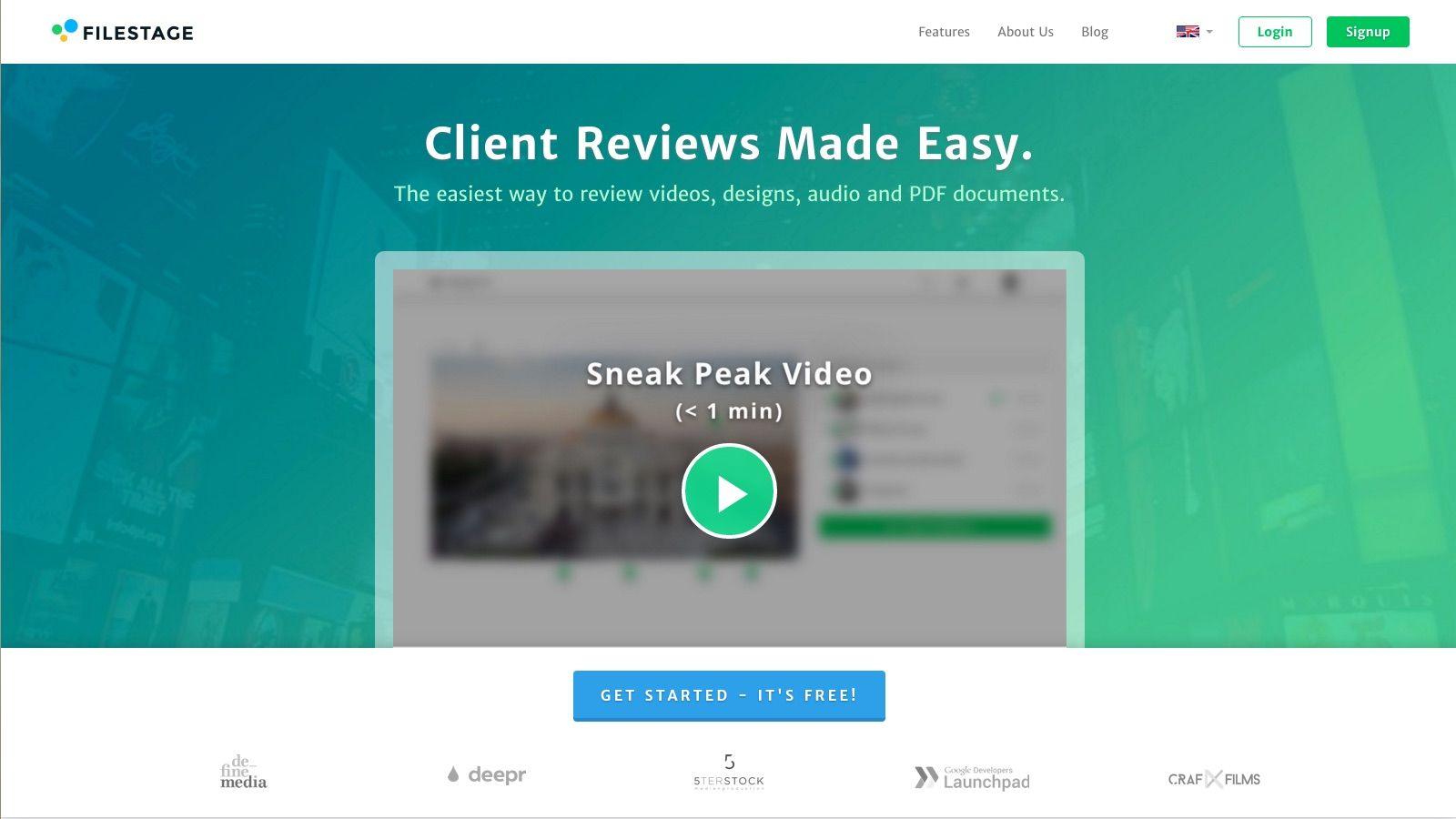 Client Reviews Made Easy Filestage Grafiken Videos