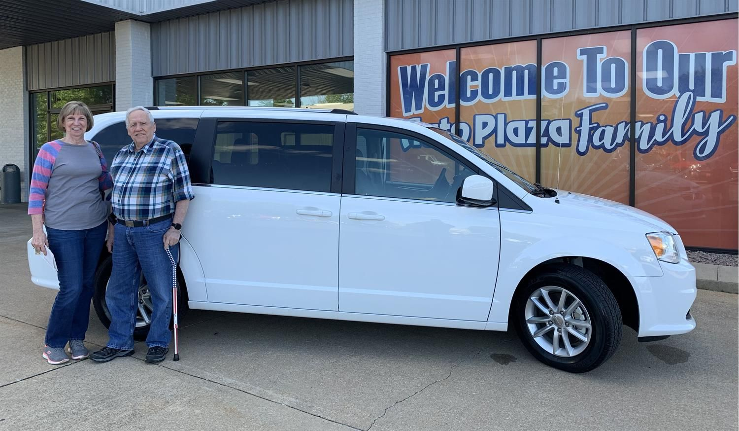Awesome Congratulations To Merrell On Your New 2019 Dodge Grand