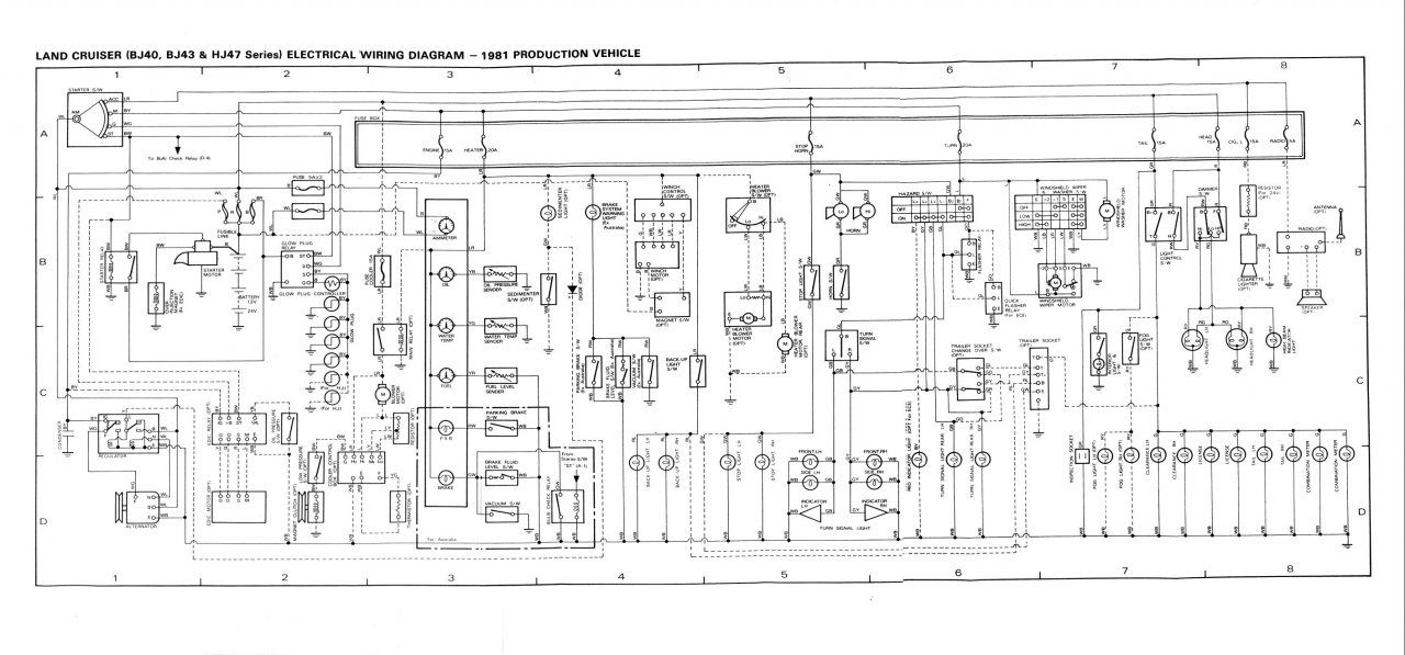 Wiring Diagram 100 Series Landcruiser