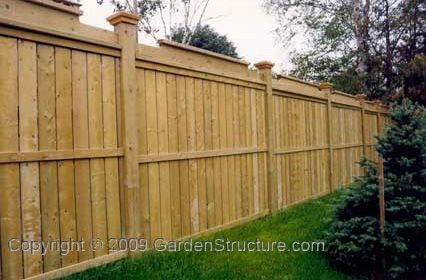 Backyard Fencing Fence Plans Instructions How To Build Wood Fences