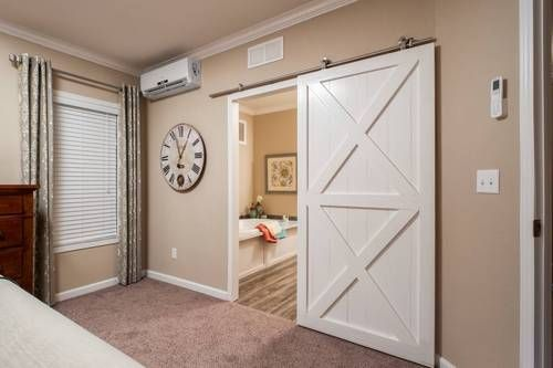 Master Bathroom Barn Door schult homes | mobile homes | 1st choice home centers | on the