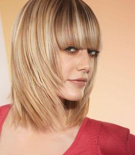 Idee coupe cheveux long avec frange