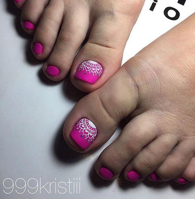 Pin de IRMA CEJA en Toenails   Pinterest   Uñas pies y Pedicura