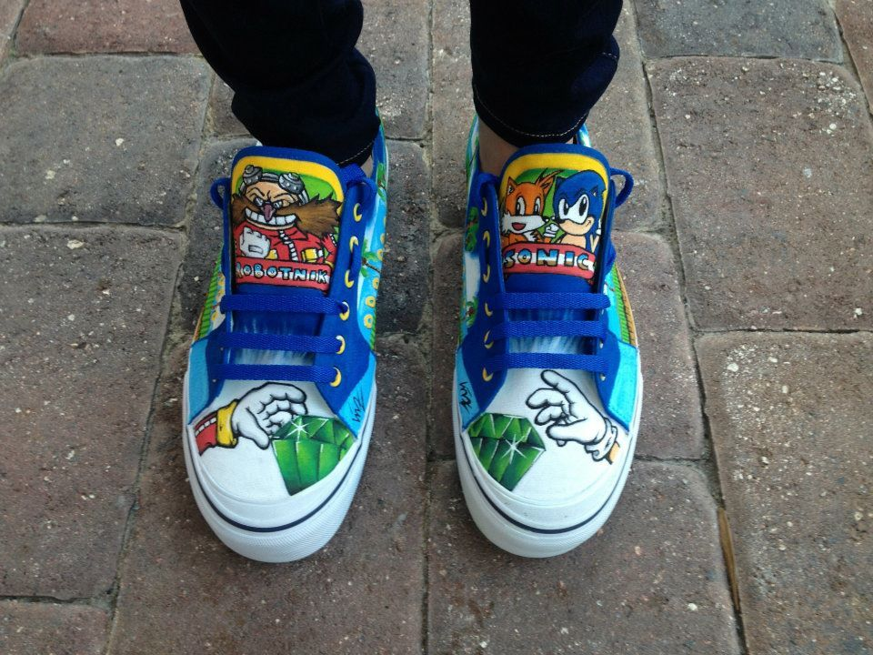 Real Life Sonic Sneakers Will Give You Super Sonic Speed Maybe Sonic Shoes Shoes Sonic
