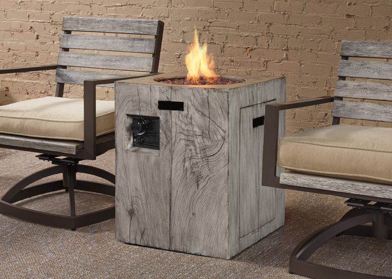 This Great Propane Fire Column Has You, Top Furniture Gorham Nh