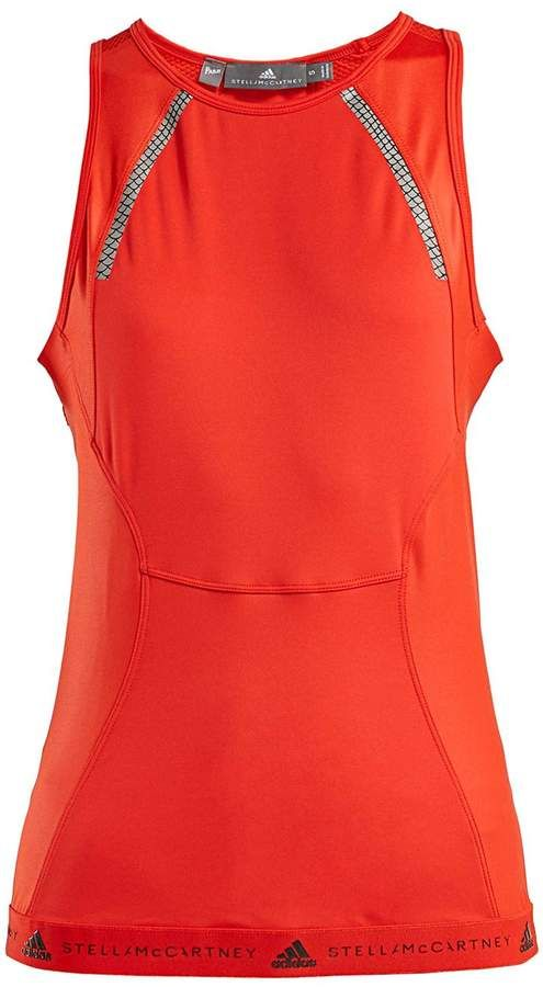 26f18c6acca18 adidas by Stella McCartney Run Shiny Performance Tank Top