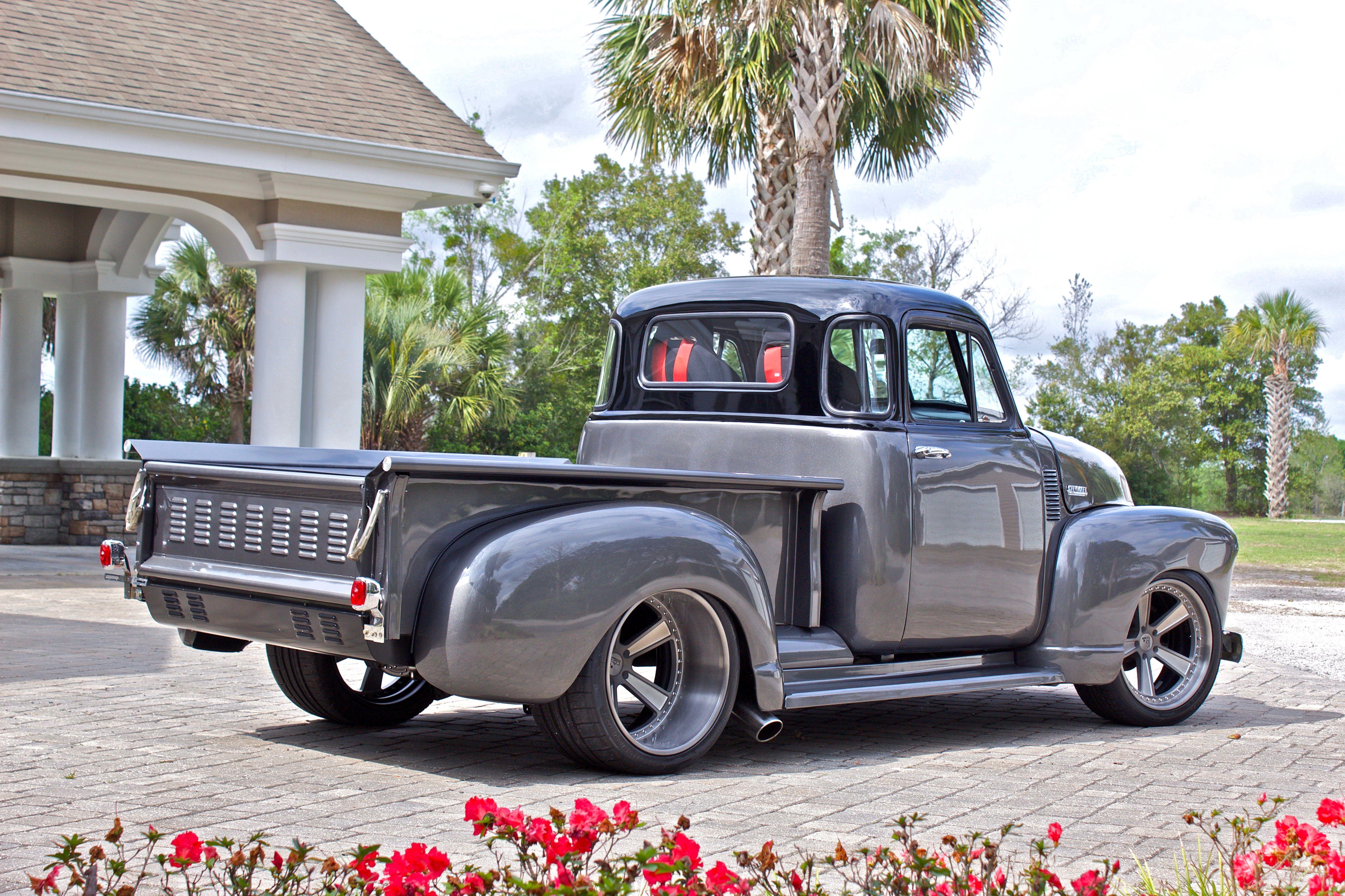 1953 Chevrolet 3100 6 Custom Wheels Trucks Custom Trucks Old Ford Trucks