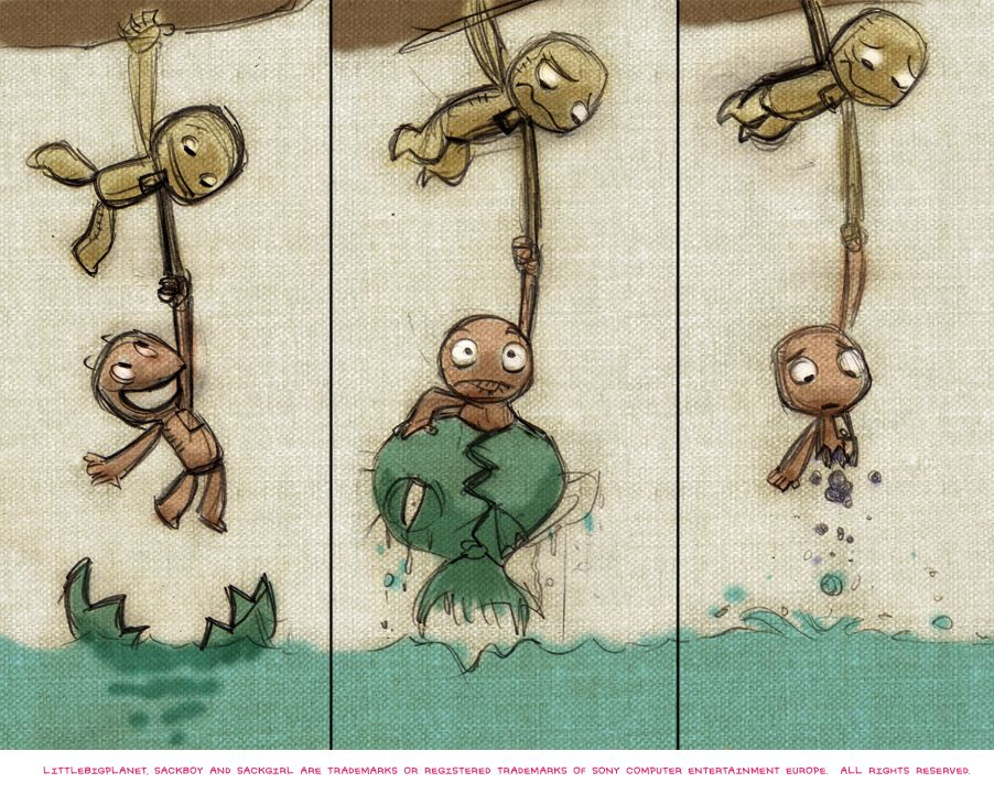 LittleBigPlanet PS Vita Concept Art