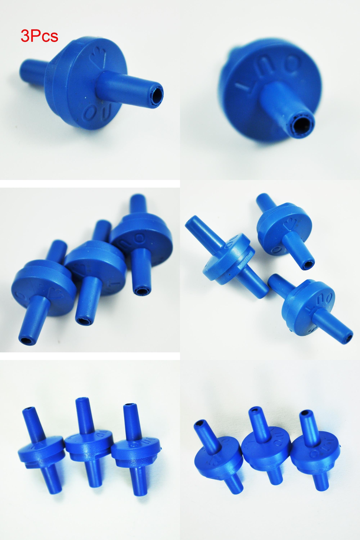 [Visit to Buy] 3 Pair NonReturn Plastic Air Pump Check