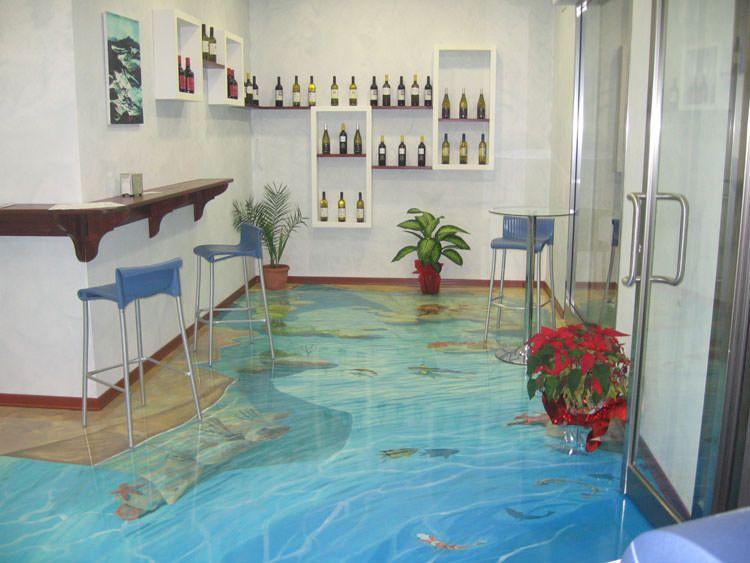 Spettacolari pavimenti d decorativi per interni