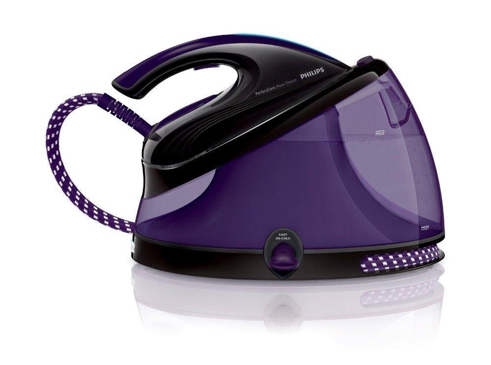BLACK FRIDAY DEAL - Philips GC8650/80 Aqua Silence Steam Generator Iron - Purple