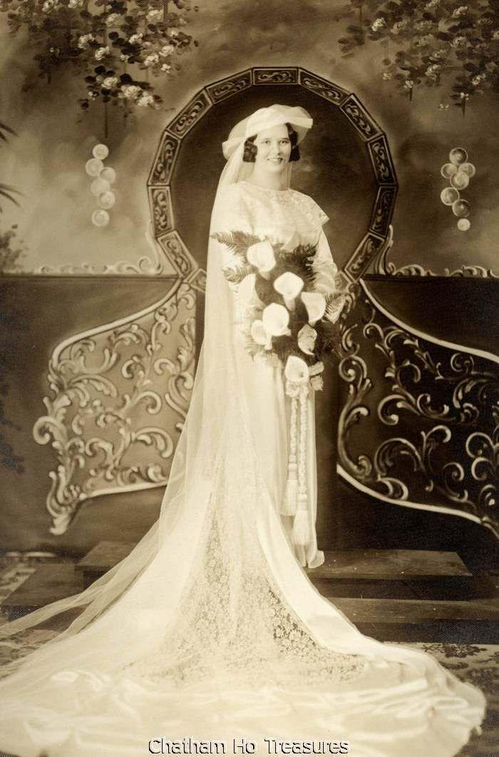 Stunning 1930s Bride | Vintage Wedding Photos | Pinterest