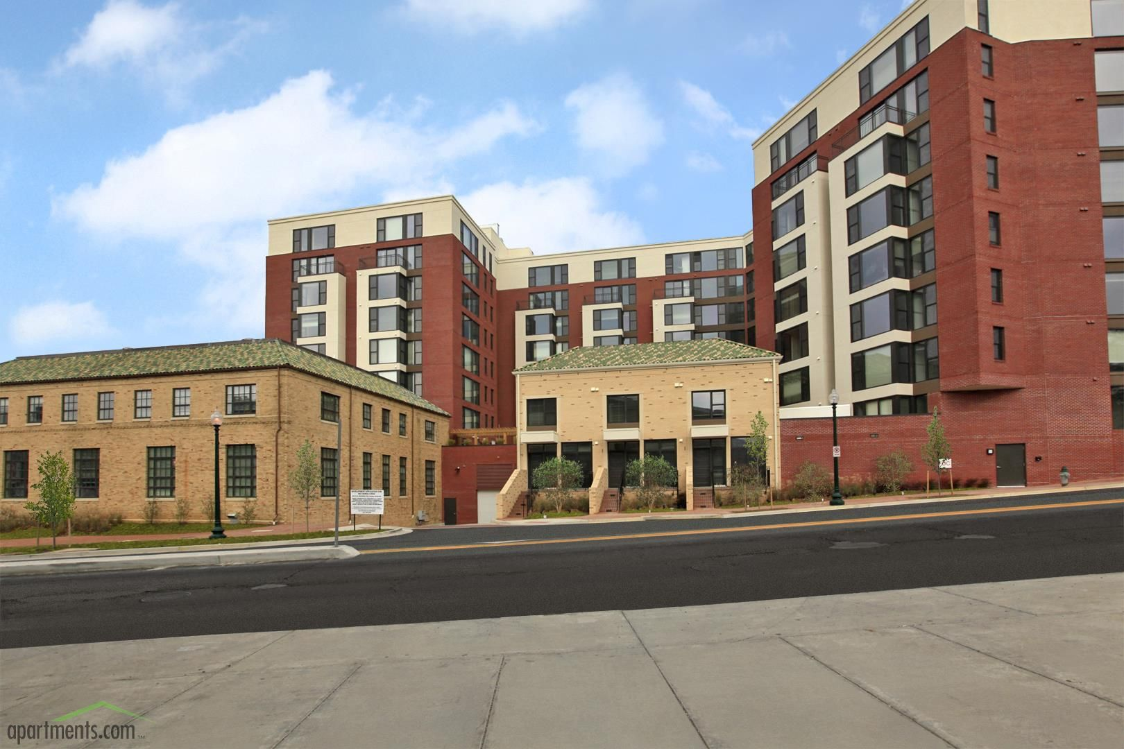 8021 Georgia Avenue A Recently Completed 210 Apartment Project Apartment Projects House Styles Downtown Silver Spring