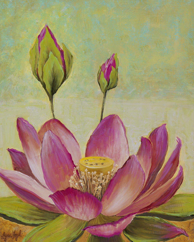 Lotus flower lotus prints tropical flowers lynnfogel botanical lotus flower lotus prints tropical flowers lynnfogel izmirmasajfo