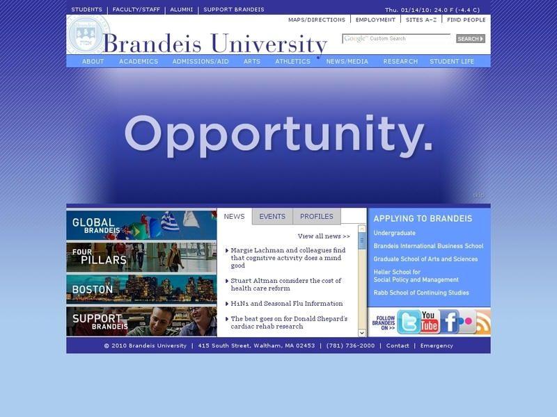 Brandeis university university student life university