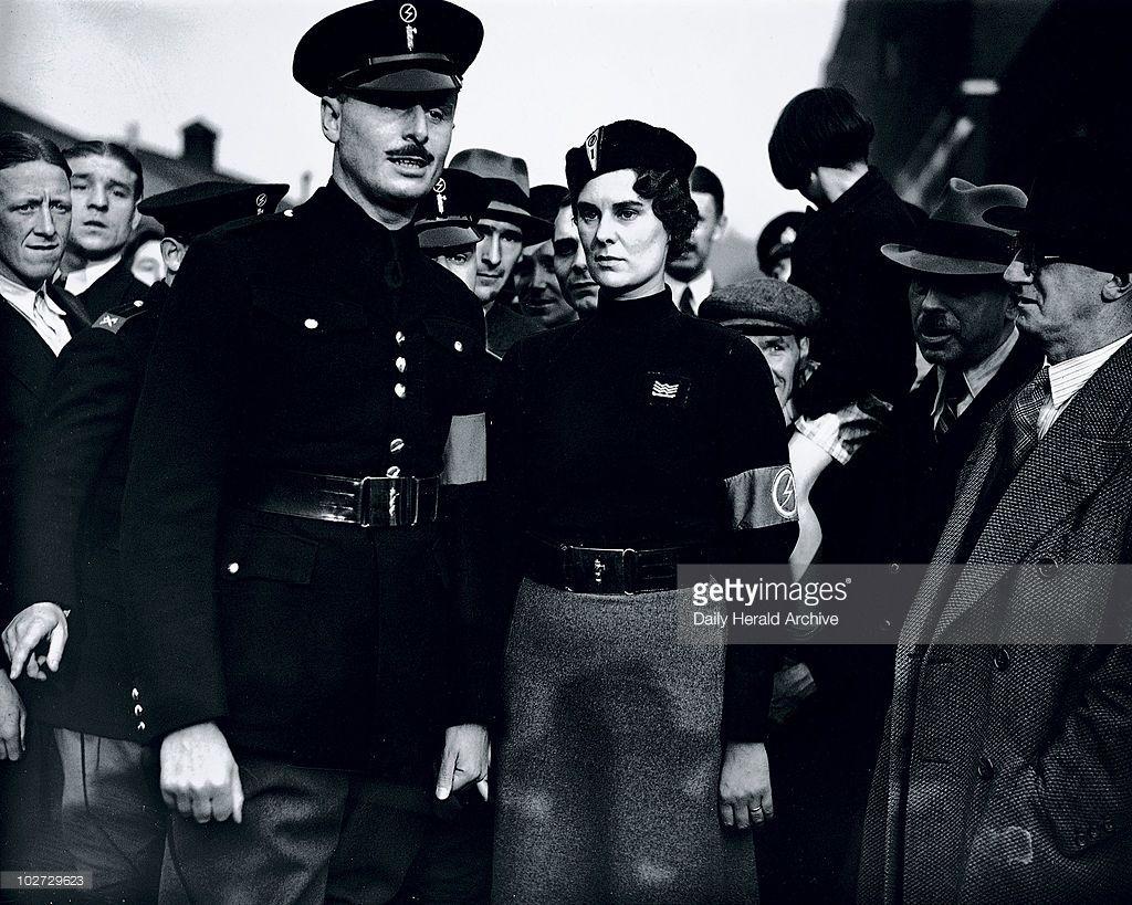 Oswald Mosley, English politician, 4 October 1936. | Diana mitford