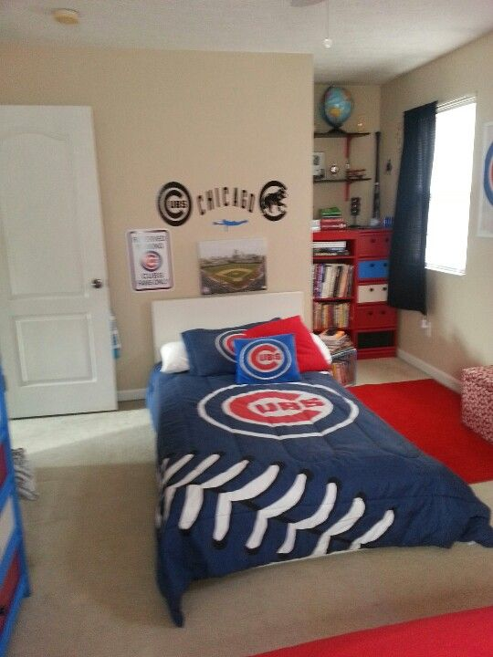 My Son Will Have A Baseball Room Just Different Team