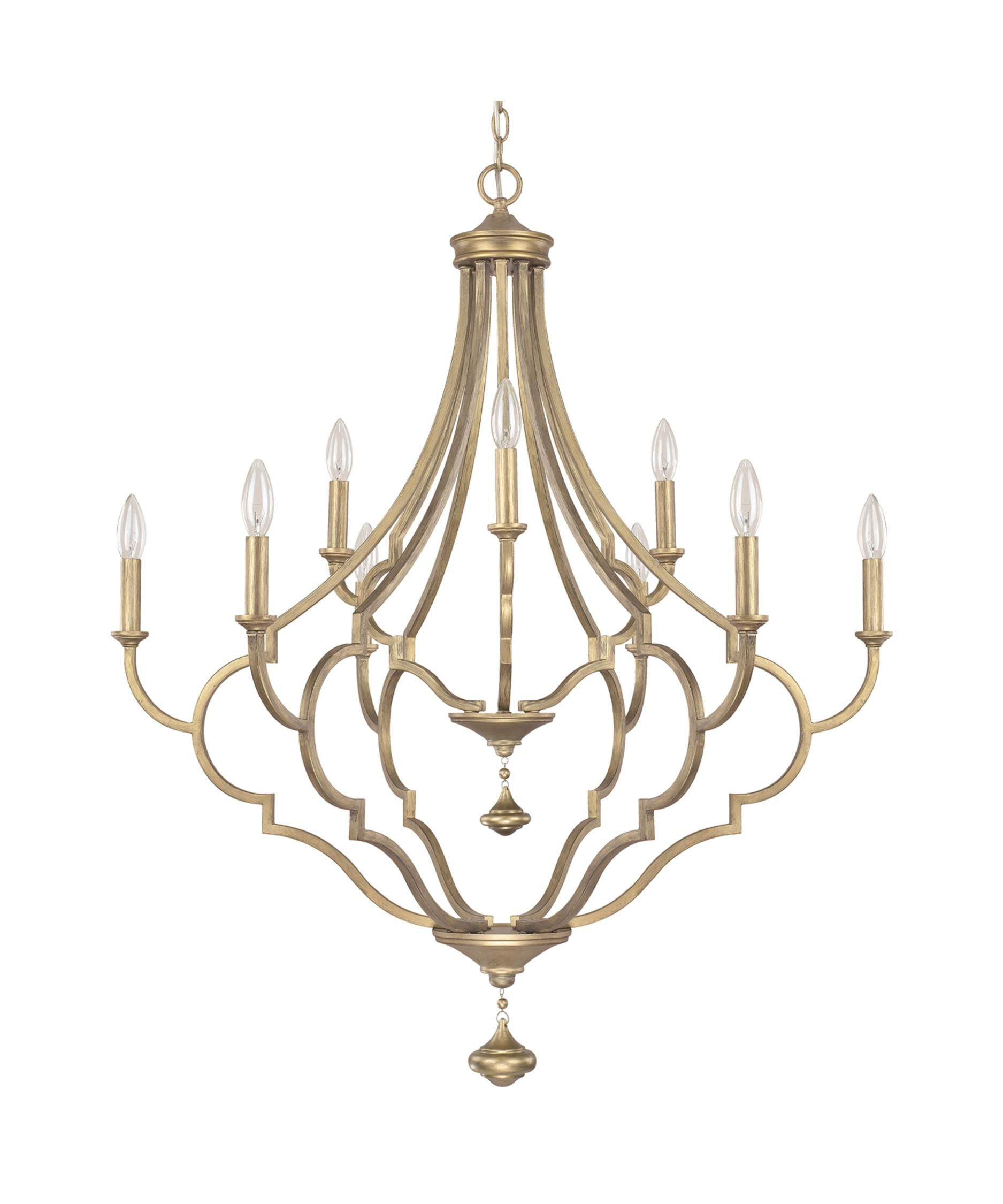 Capital Lighting 4459 Quinn 34 Inch Chandelier