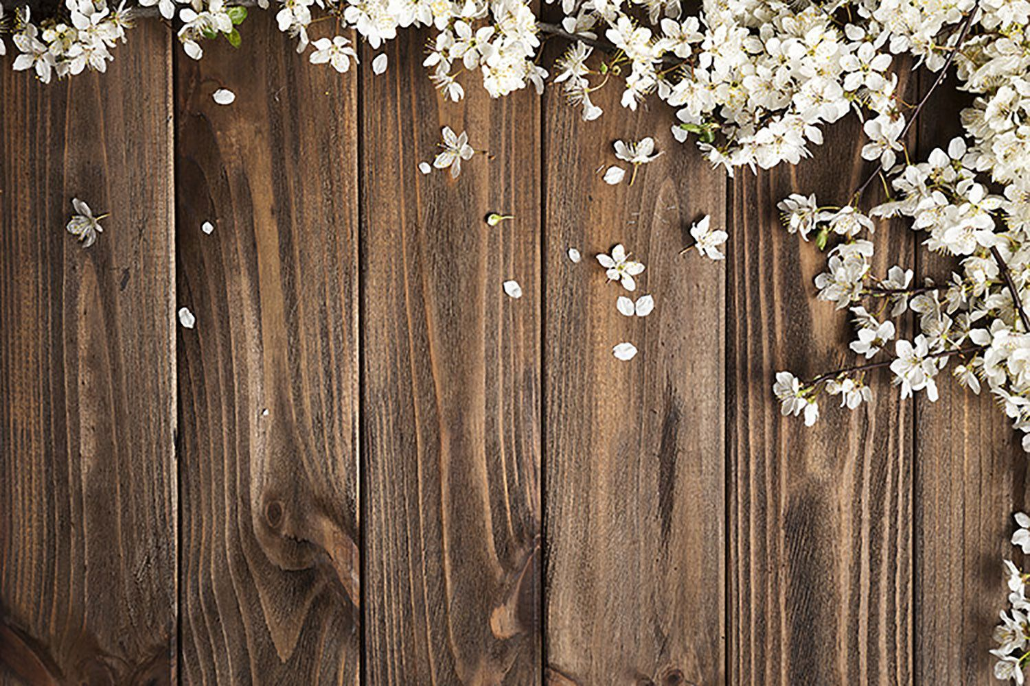 Vintage Wood Wall Backdrop For Photography White Flowers Etsy In 2020 Wall Backdrops Photography Backdrops White Flowers