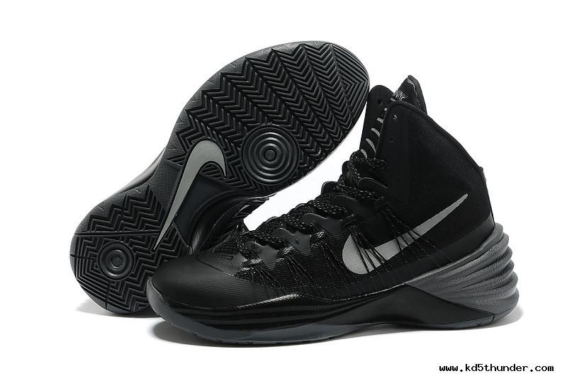 check out 1e468 cac02 ... italy nike hyperdunk 2013 black metallic silver 86a14 284e5
