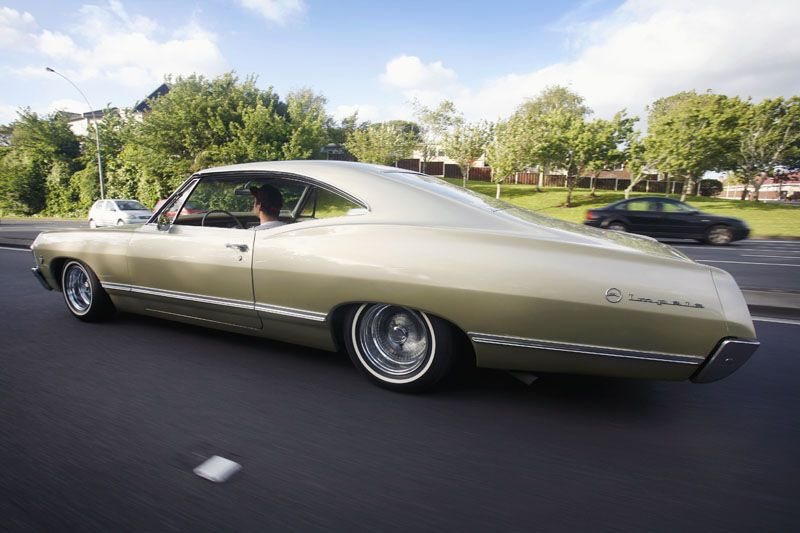 Cruising New Zealand In A 67 Impala Impala 67 Impala Chevy Impala