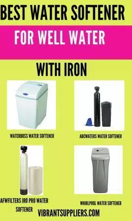 Best Water Softener For Well Water Water Softener Water Softener System Water Well