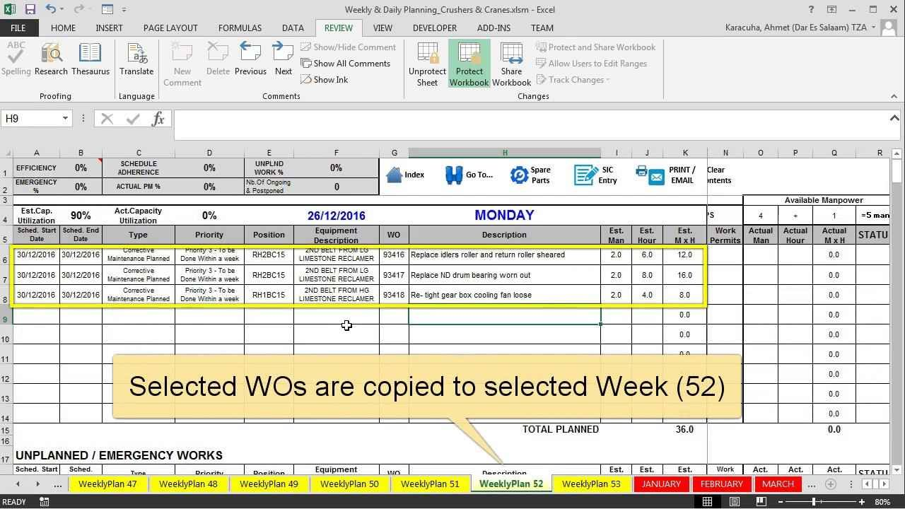 maintenance tracking software and tracking maintenance work orders