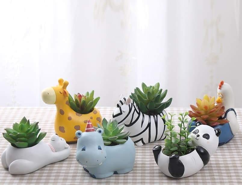 Photo of Cute Animal Pets Flower Pots