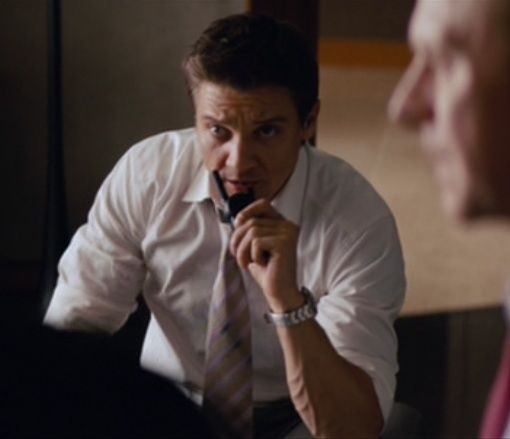 Jeremy Renner as IMF Special Agent William Brandt in Mission Impossible 4: Ghost Protocol