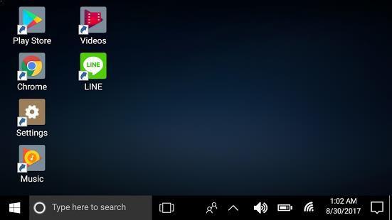 Windows 10 Desktop Launcher Experience the desktop