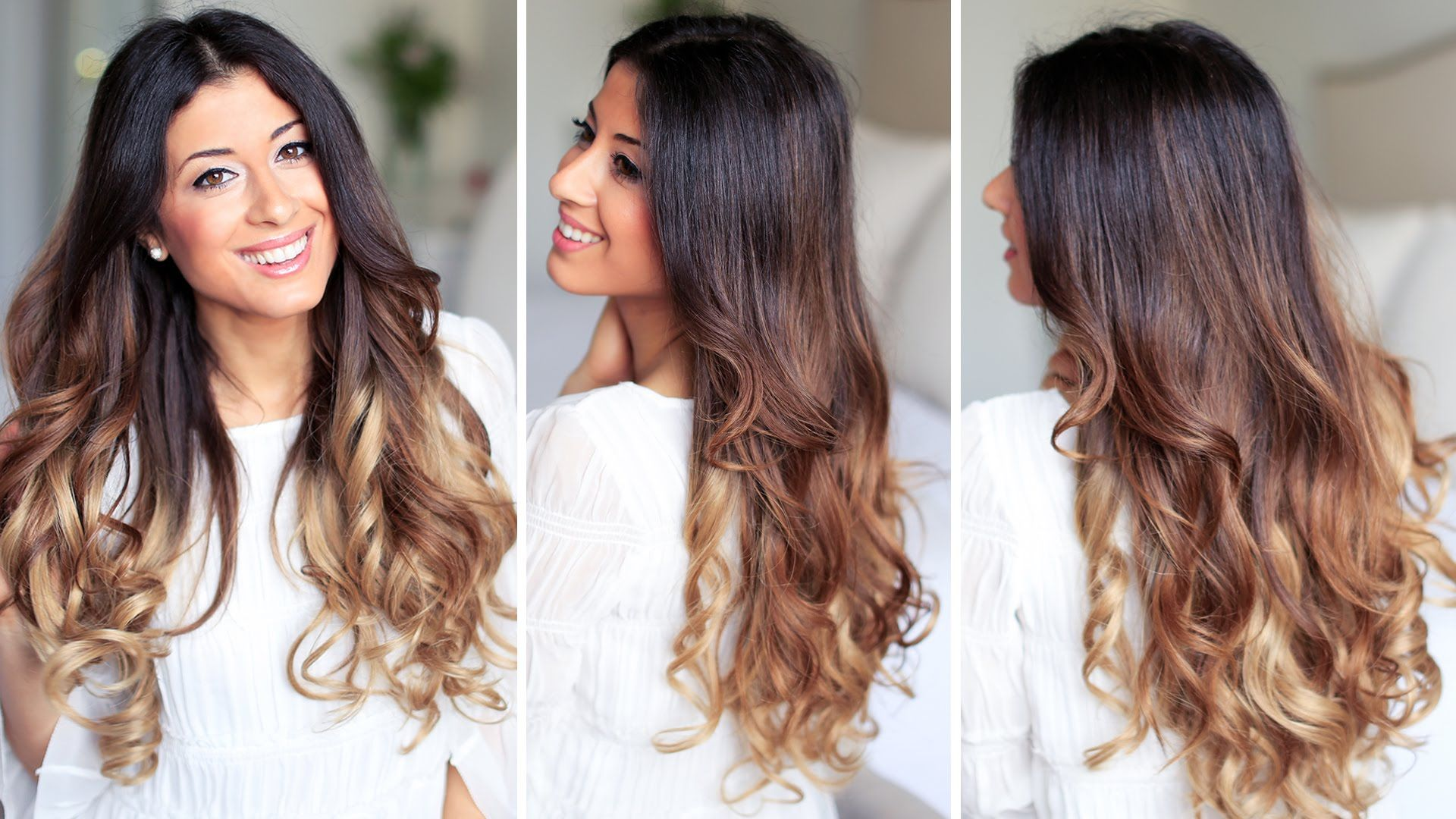 Super Easy And Fast Ways To Get Curly Hair And Perfect Loose Waves With Images How To Curl Your Hair Easy Hairstyles
