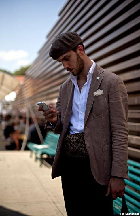 Beret Italian Mens Fashion Preppy Mens Fashion Mens Fashion Business Casual