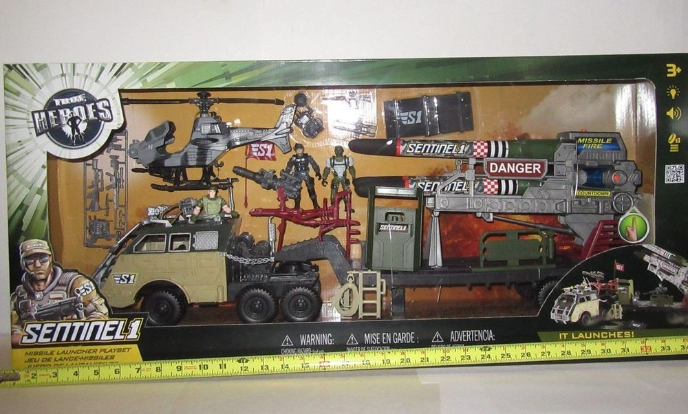 True Heroes Sentinel 1 Missile Launcher Playset Toys R Us
