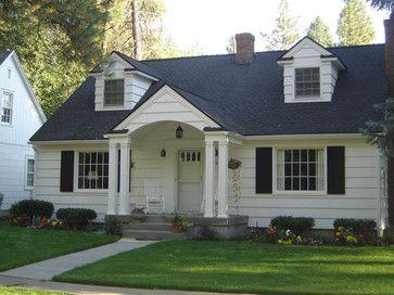 Portico For A Cape Cod Home 10 756 Cape Cod Porch Home