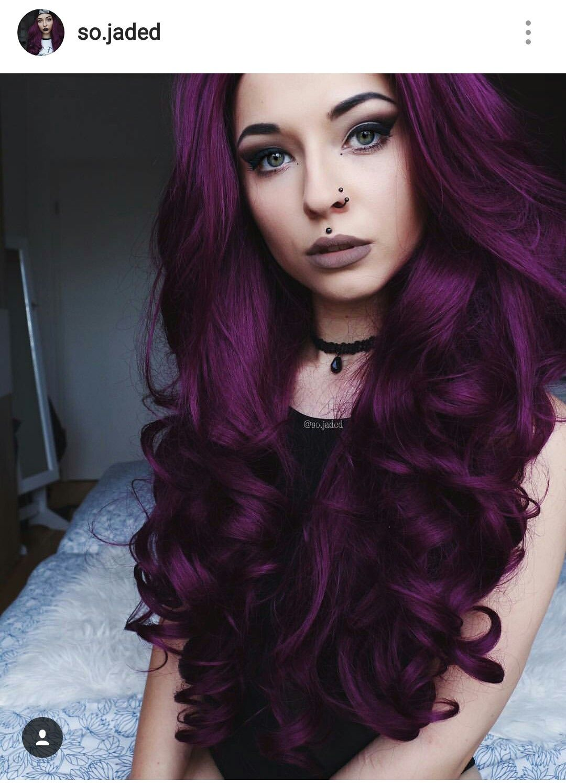 Tintes De Cabello Color Violeta Oscuro Chungcuso3luongyen