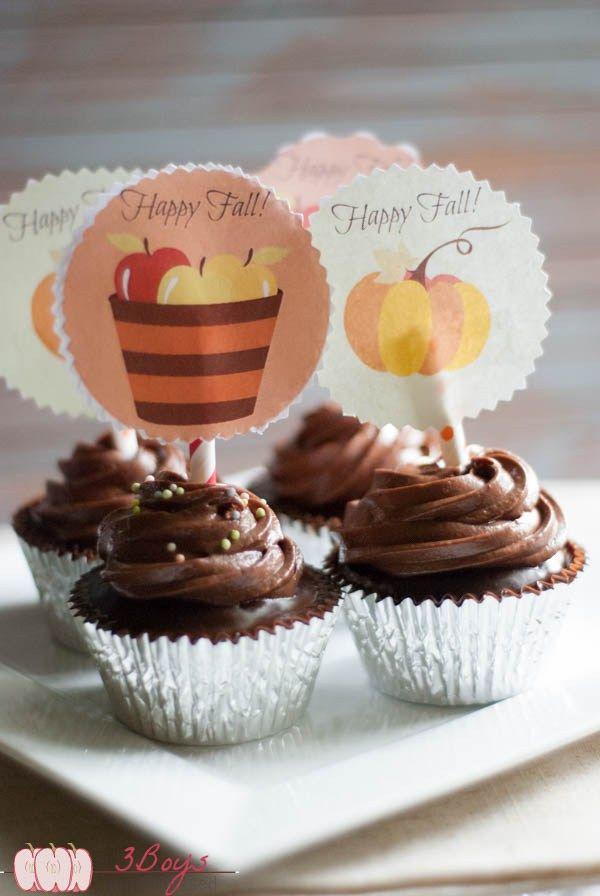 triplechocolatecupcakes8 (1 of 1)