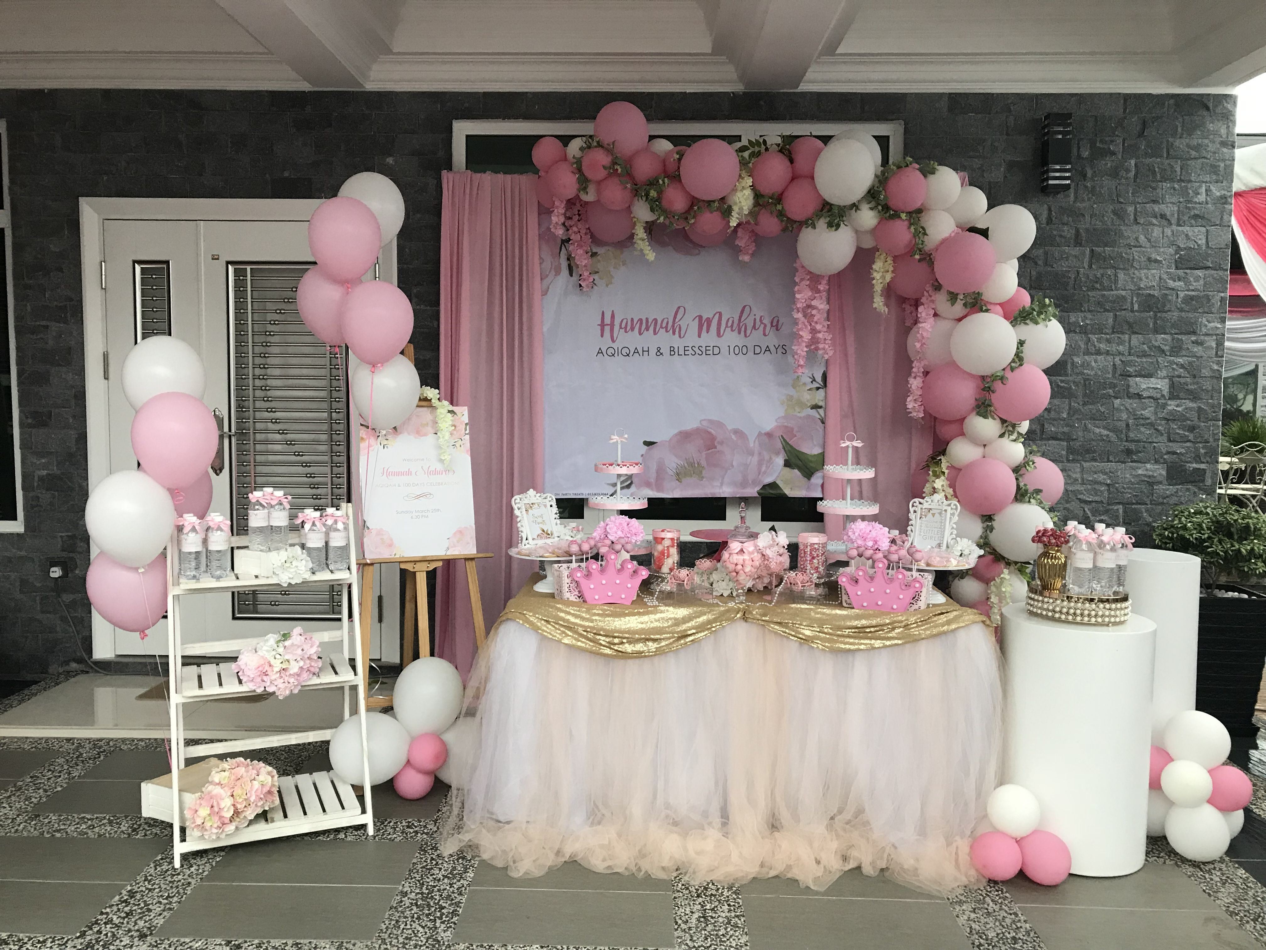 Party Decoration Ideas Birthday Party Decorations Baby Girl