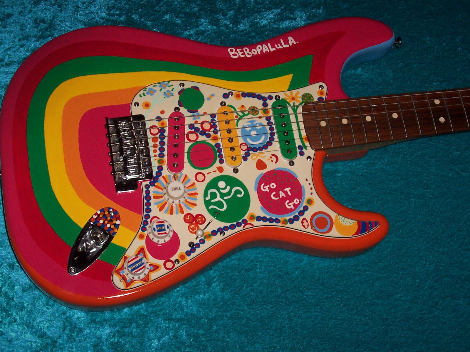 Rocky Fender Stratocaster Guitar Strat Mim Mexican Mexico