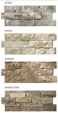 Modula Stone Self Stick Easy Stone Veneer Walls In 2019