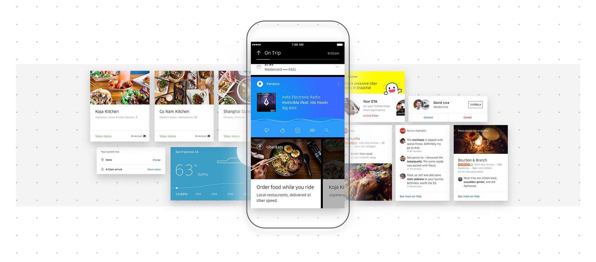 Designing the new Uber App Uber Design Medium App