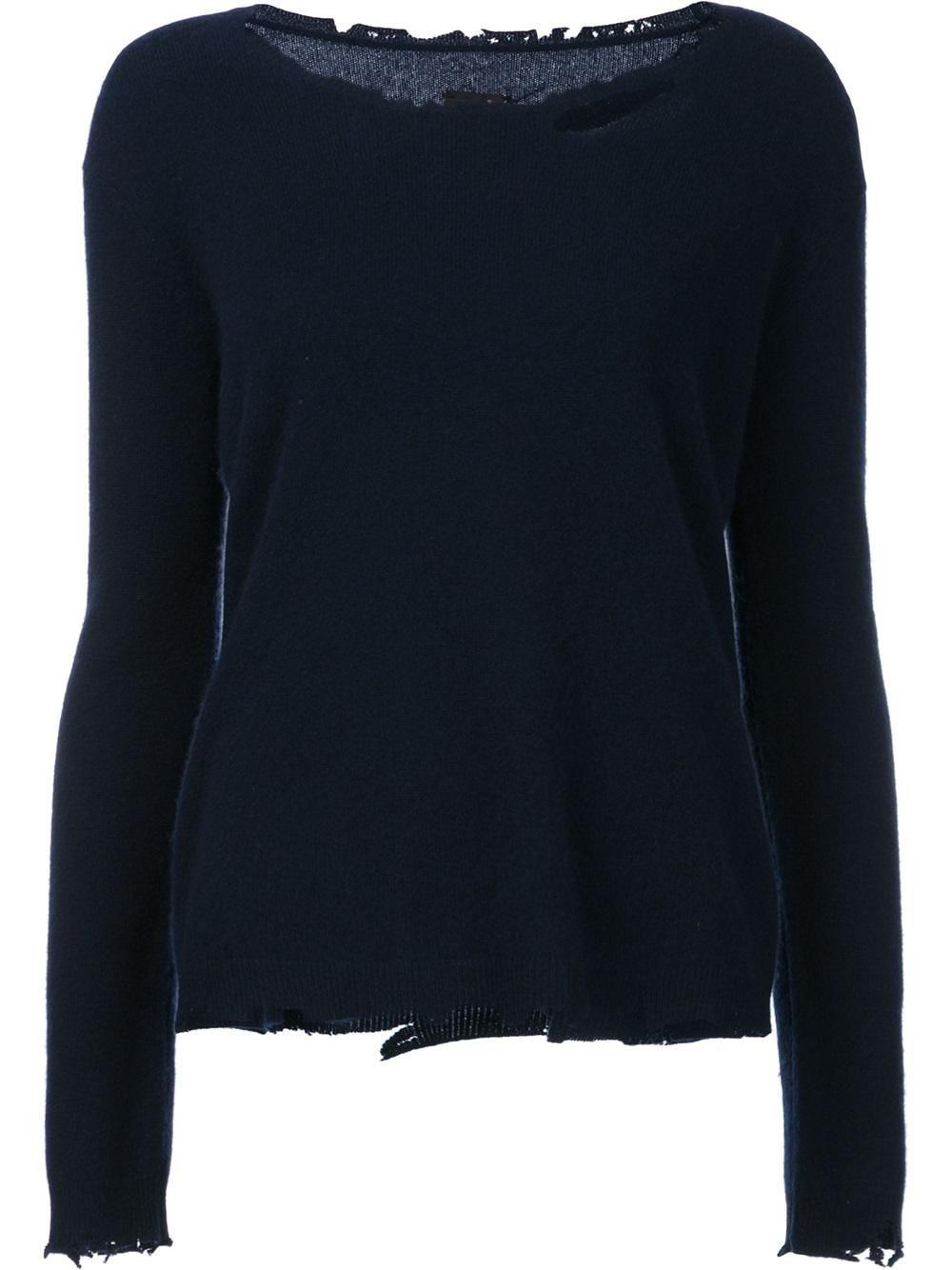RtA Destroyed Effect Jumper, http://www.kirnazabete.com/just-in/sweater-ls-cashmere-crew-neck