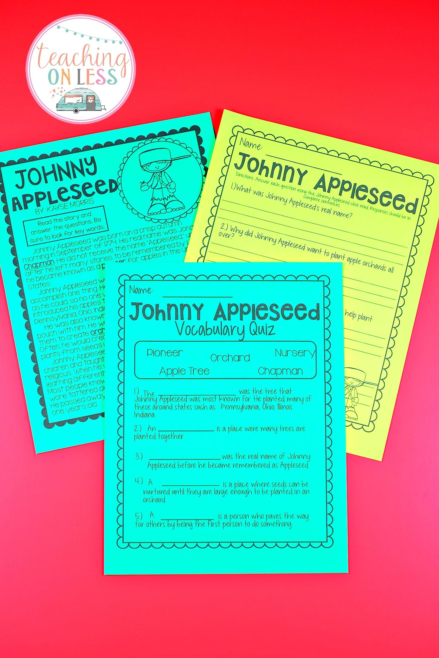 Fun Things To Do On Johnny Appleseed Day