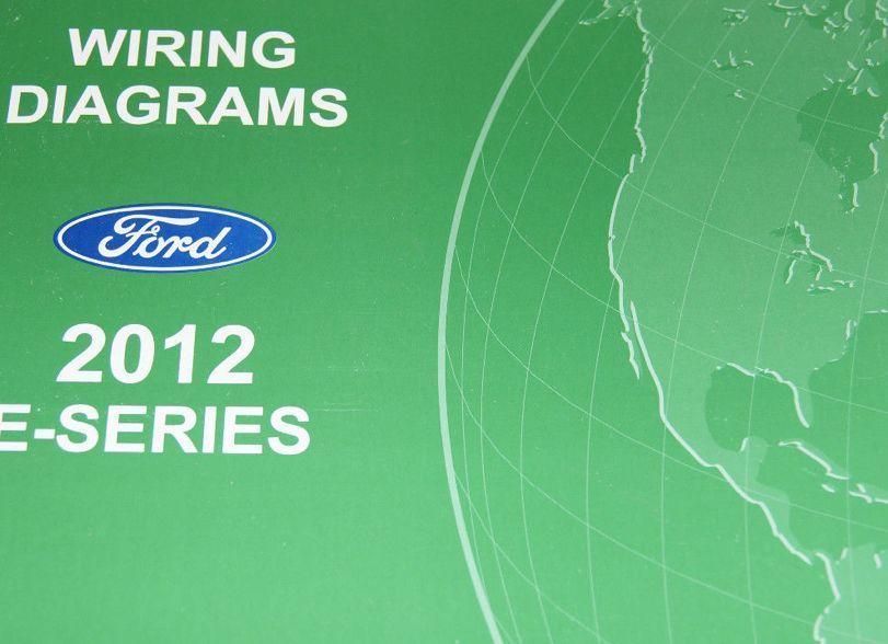 2012 Ford Econoline E Series Electrical Wiring Diagram Service Shop Manual Ewd