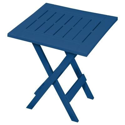 Gracious Living   Blue Adirondack Folding Table   14202 6PDQ   Home Depot  Canada