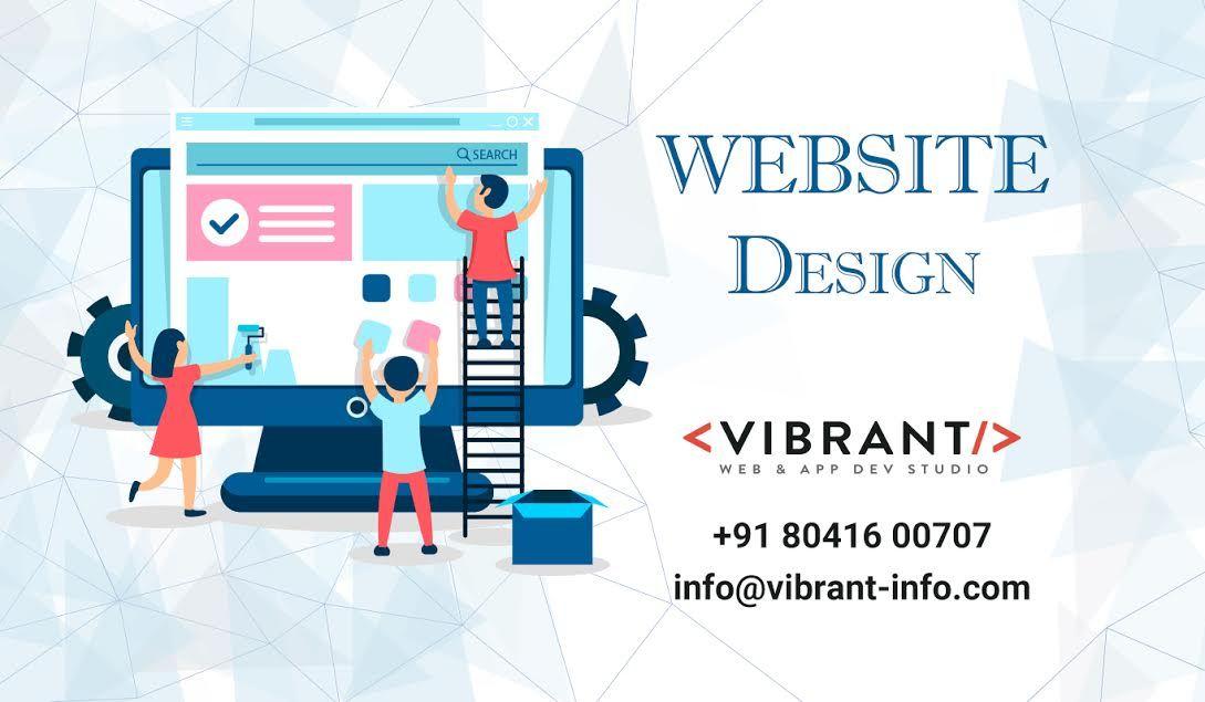 Website Design Company In Bangalore Vibrant Website Design Company Fun Website Design Website Design